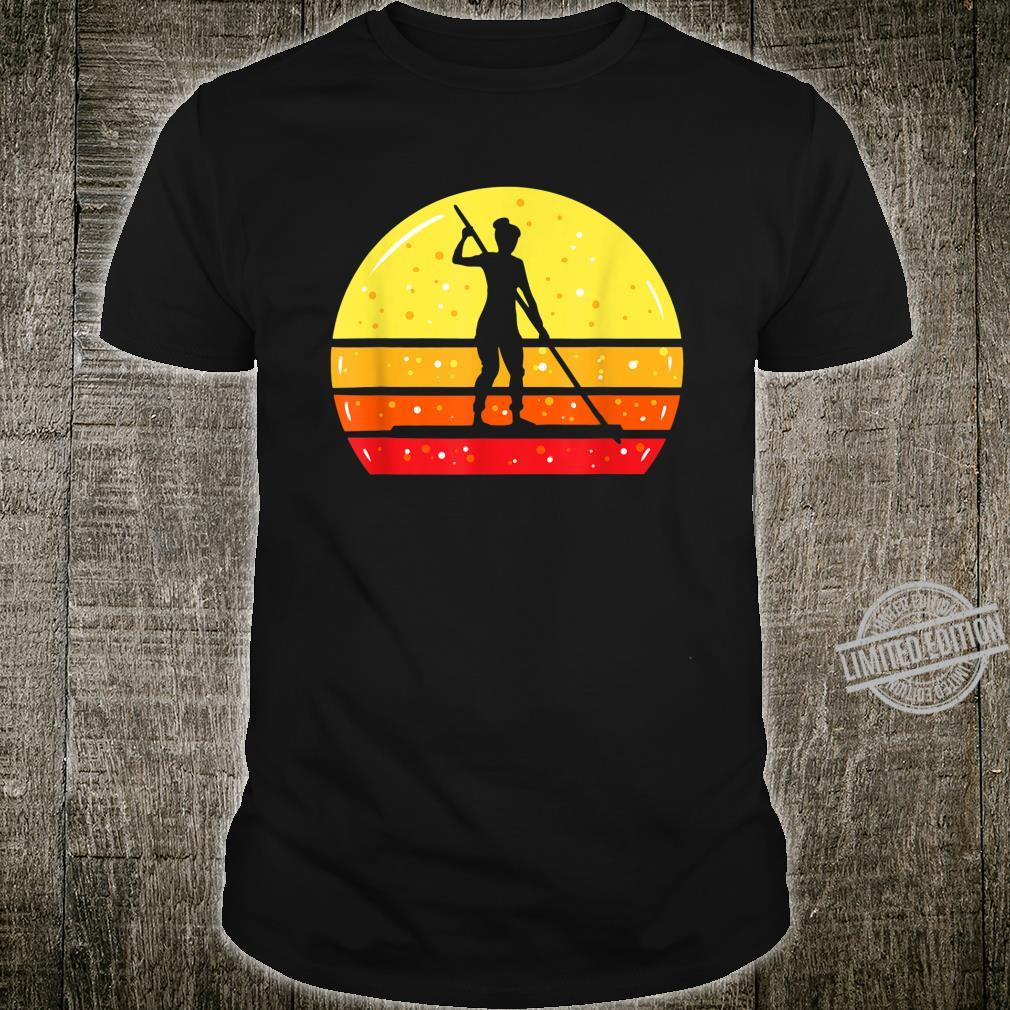 Woman On SUP Stand Up Paddleboard Shirt