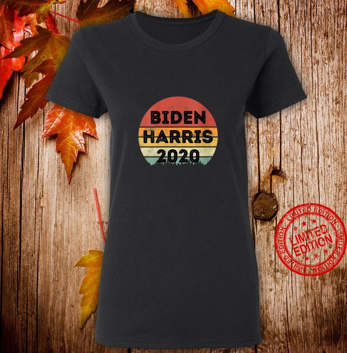 Womens Biden Harris 2020 Joe Biden Kamala Harris Vintage Shirt ladies tee