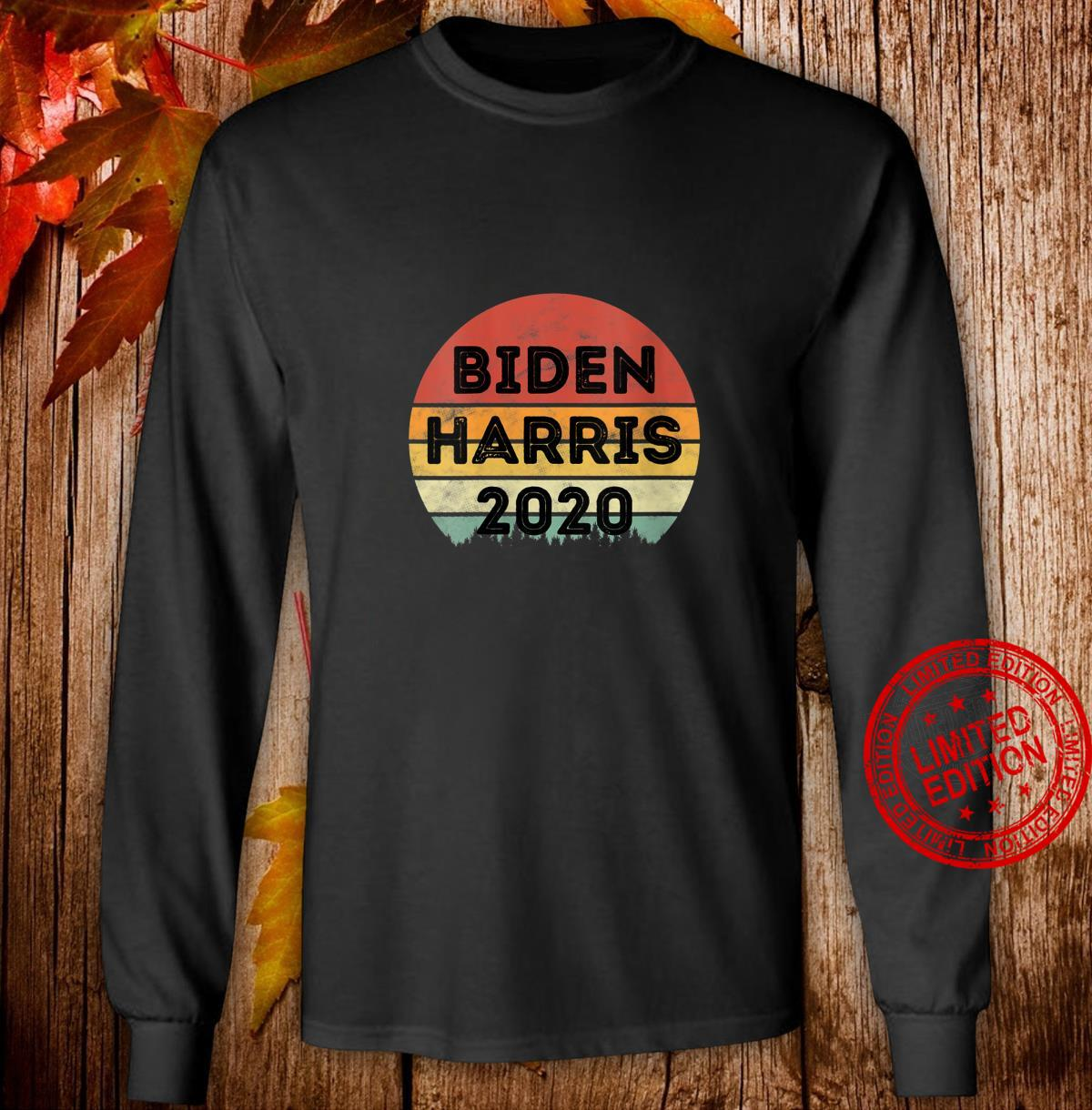 Womens Biden Harris 2020 Joe Biden Kamala Harris Vintage Shirt long sleeved