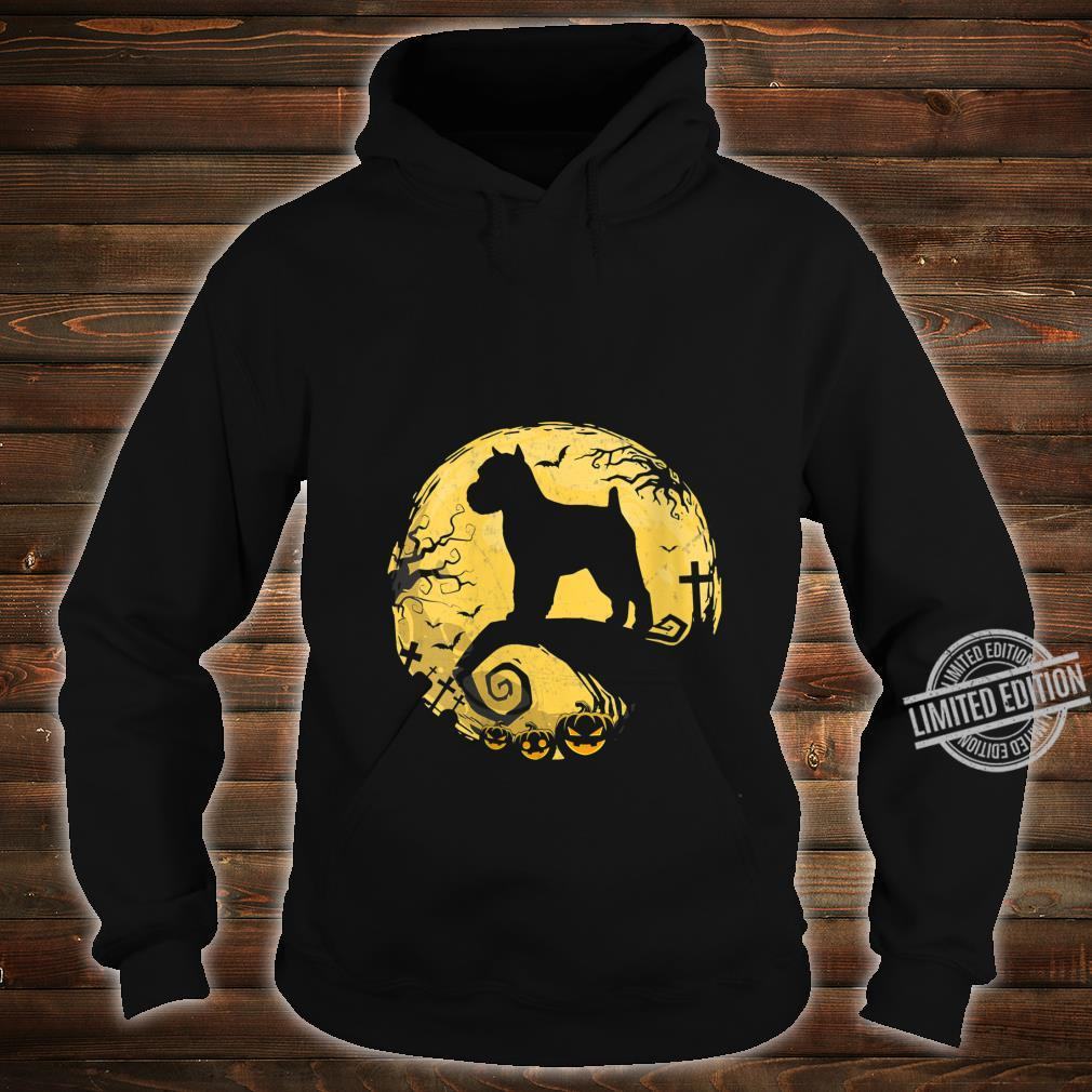 Womens Brussels Griffon Halloween Shirt hoodie