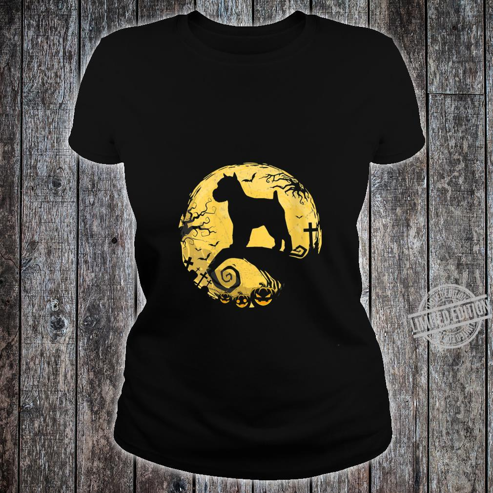 Womens Brussels Griffon Halloween Shirt ladies tee