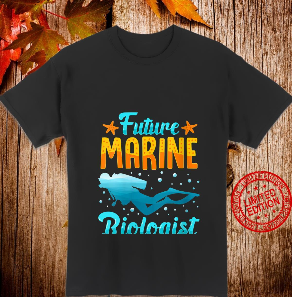 Womens Future Marine Biologist Shirt