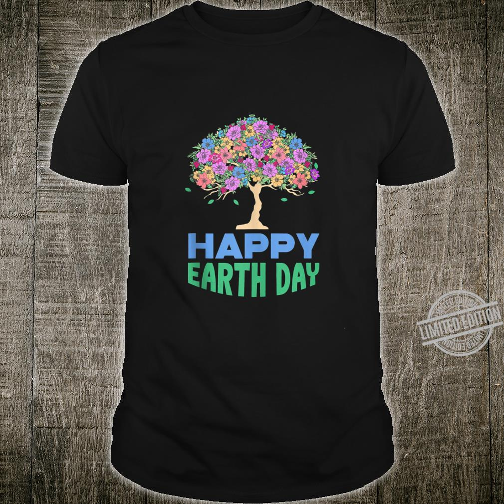 World Earth Day Flower Tree Save the Forest Nature Shirt